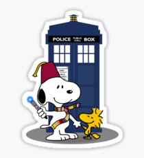 Snoopy Who. Sticker