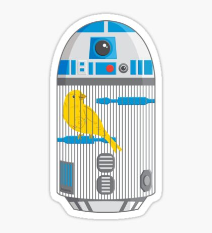R2 Birdcage Sticker