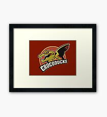 Crocoducks Framed Print