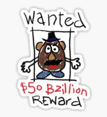 Wanted Sticker