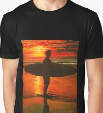 Sunrise Surfer  Graphic T-Shirt