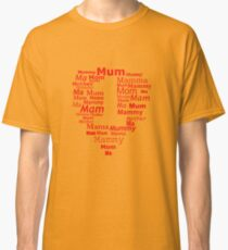 mother number 1 heart Classic T-Shirt