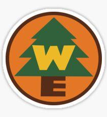 Wilderness Explorer Logo Sticker