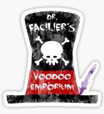 Dr. Facilier's Voodoo Emporium Sticker