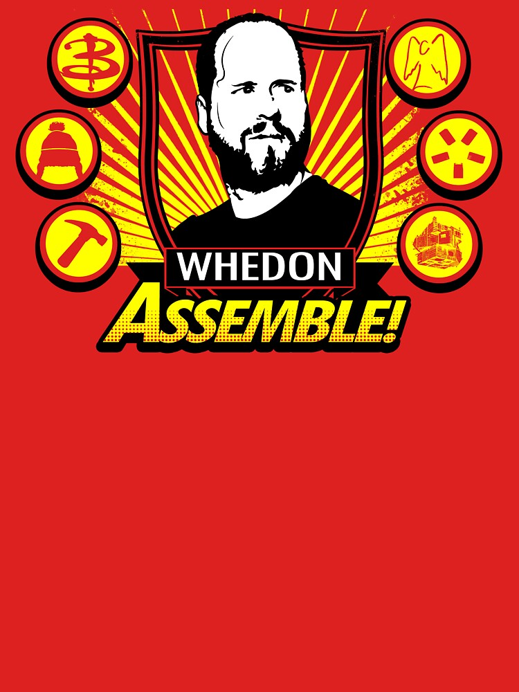 Whedon Assemble by TomTrager