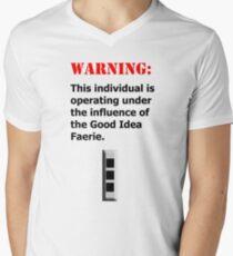 Good Idea Faerie CW3 Men's V-Neck T-Shirt