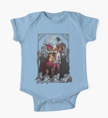 The Angels take the Ponds One Piece - Short Sleeve