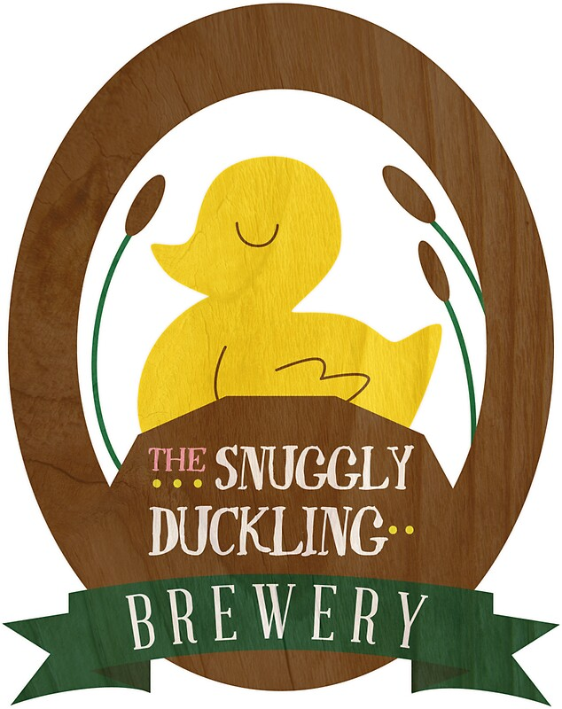 The Snuggly Duckling Brewery Stickers By Rebeccaariel