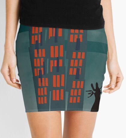 Urban Cat Mini Skirt