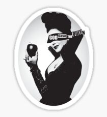 God Save the (Evil) Queen Sticker