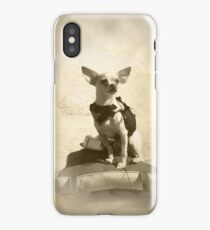 Chihuahua and the Kayak Adventure iPhone Case/Skin