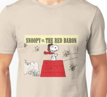snoopy vs the red baron Unisex T-Shirt
