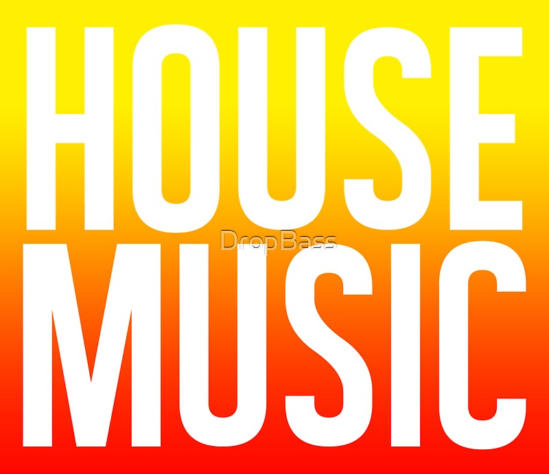House music stickers by dropbass redbubble for Us house music