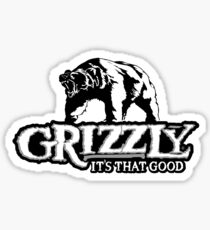 Grizzly Smokeless Tobacco Sticker