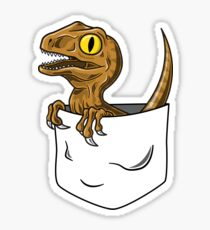 Pocket Raptor T-Shirt Sticker