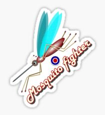 Mosquito fighter Sticker