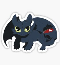 Snaggle Toothless Sticker