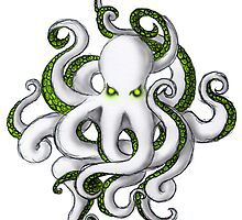 Mutant Zombie Dectopus by Keelin  Small