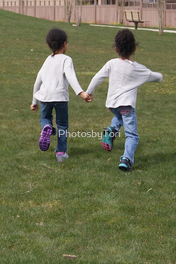 Children Playing So Free by PhotosbyTori