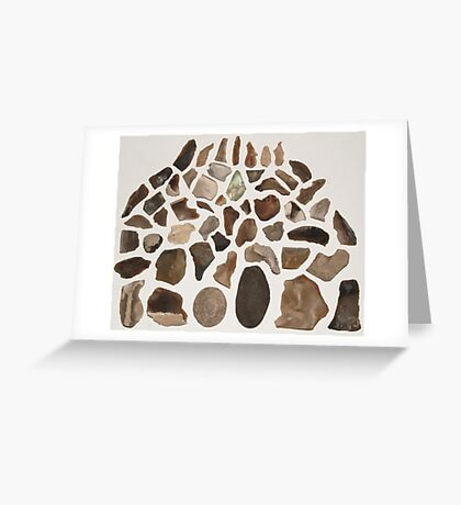 A Vision In Flint! Greeting Card