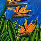 """Birds"" of Paradise by Guy Wann"