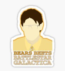 Bears Beets Sticker