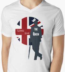 Long Live the Queen - Redux Men's V-Neck T-Shirt