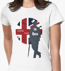 Long Live the Queen - Redux Women's Fitted T-Shirt
