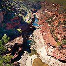Z Bend Gorge - Kalbarri by John Pitman