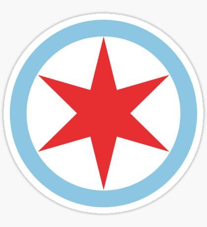 Captain Chicago (Clean) Sticker