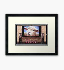Electric Sheep Framed Print