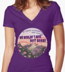 If Every Pork Chop Was Perfect Women's Fitted V-Neck T-Shirt