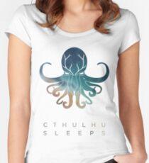 Deadmau5 Cthulhu Sleeps Women's Fitted Scoop T-Shirt
