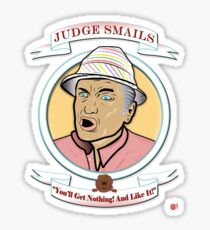 Caddyshack - Judge Smails Sticker