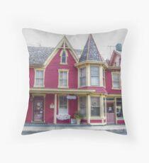 Victorian Shop Throw Pillow