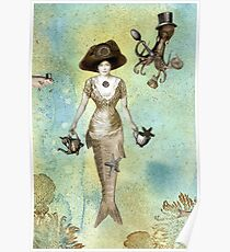 A Mermaid's Tea Poster