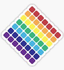 Rainbow Diamond Sticker