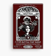 Metamorphosis by The Wolf Man: A Full Service Hair Salon Canvas Print