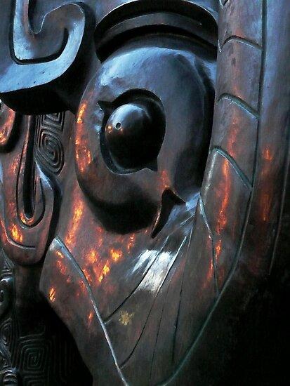 Da Tung & Xi'an Bao Bao, Shang Dynasty replica (2002, bronze).  by Persizara