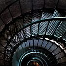 Currituck Lighthouse Stairs by Robin Black