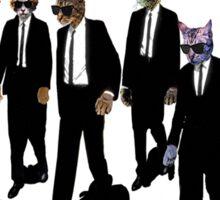 Reservoir Dogs (Cats) Meow Sticker