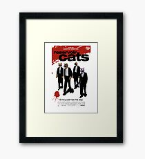 Reservoir Dogs (Cats) Meow Framed Print