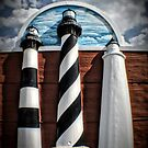 Lighthouses of North Carolina by Robin Black