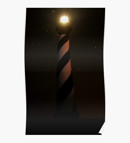 Hatteras Lighthouse Poster
