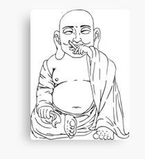 The Tokin' Buddha Canvas Print