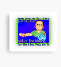 Just Like That Canvas Print