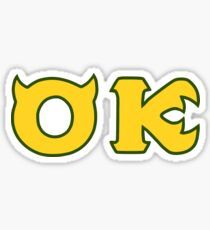 Monsters U: Oozma Kappa Sticker