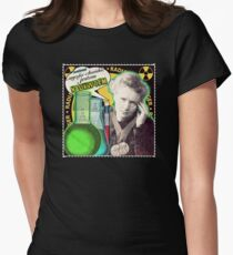 Popular Science: M. Curie (Polish) Women's Fitted T-Shirt