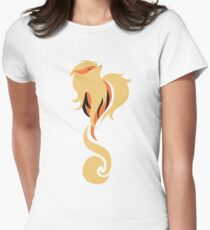 Legendary Flame - Arcanine (Graceful) Women's Fitted T-Shirt