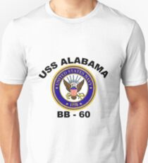 USS Alabama (BB-60) Crest T-Shirt